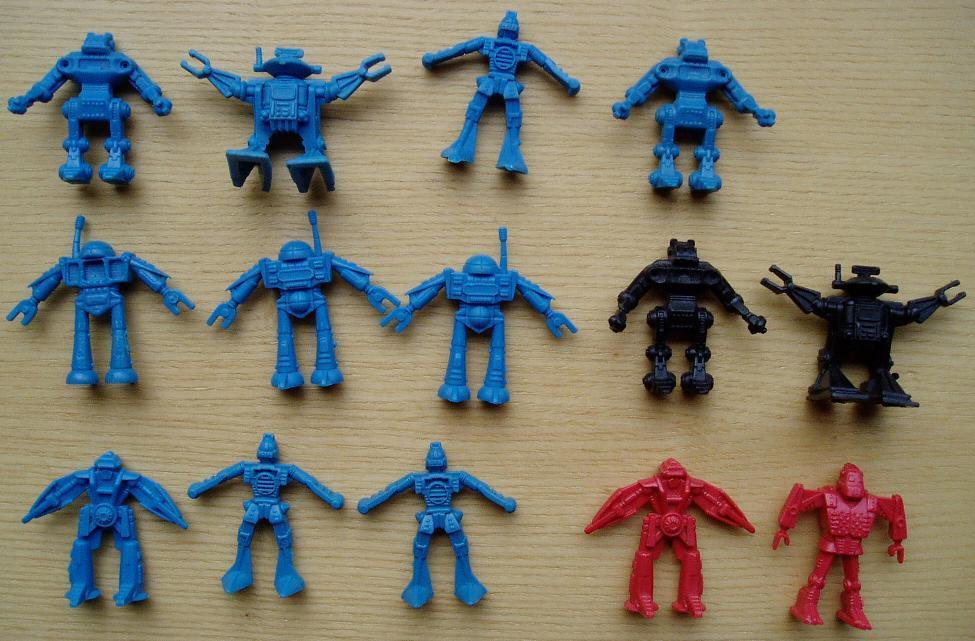 toy nostalgia little plastic robots the amazing world