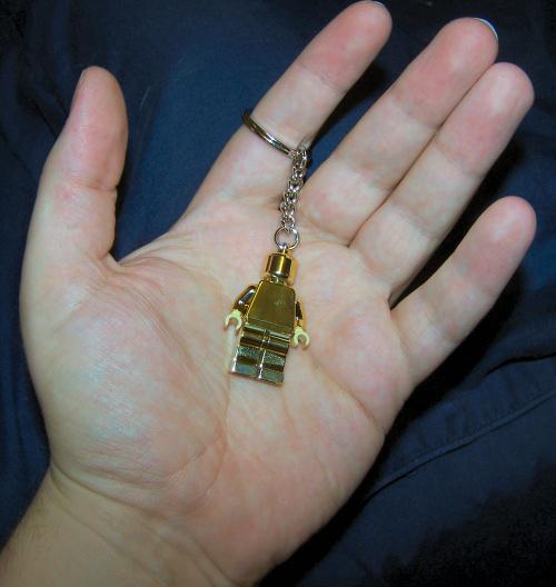 Lego gold minifig