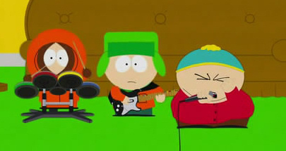 Cartman singing Poker Face