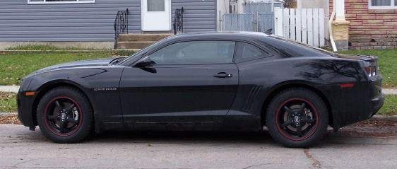 18″ MSW Type 16 rims on 2010 Camaro