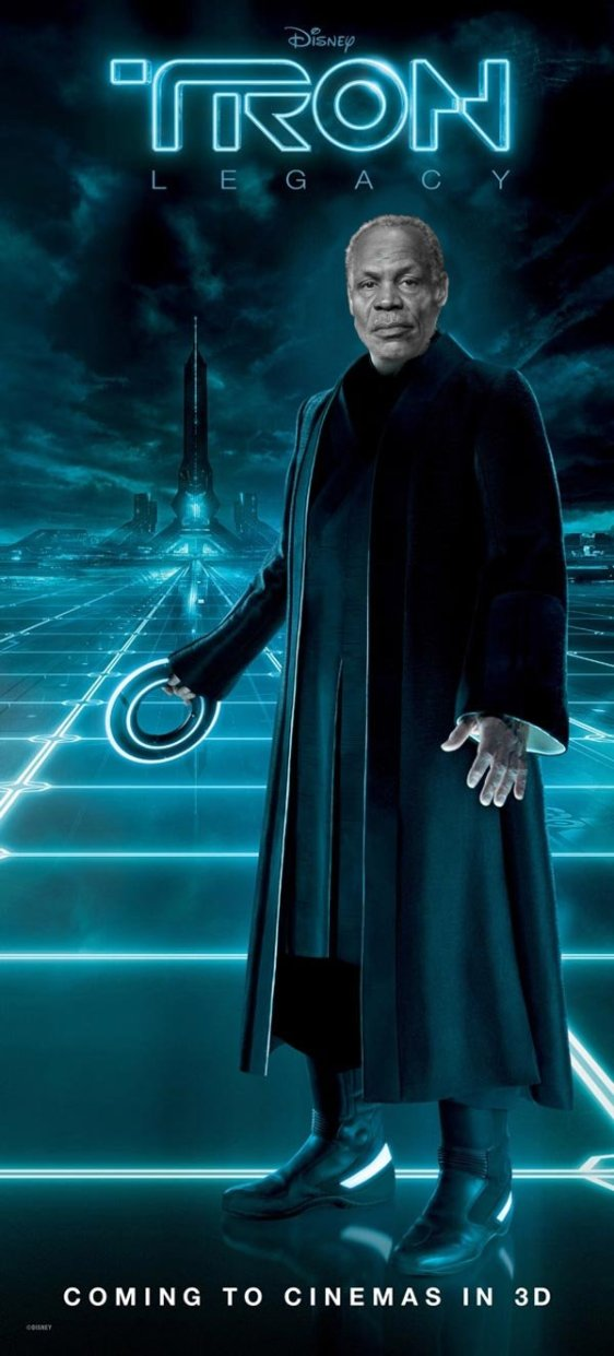 Tron - Starring Danny Glover