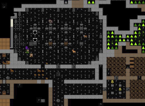 Dwarf Fortress with a graphics pack installed
