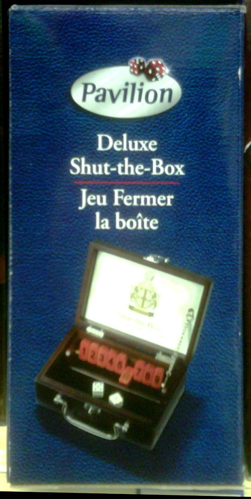 Deluxe Shut-The-Box
