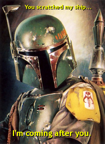 I am Boba Fett