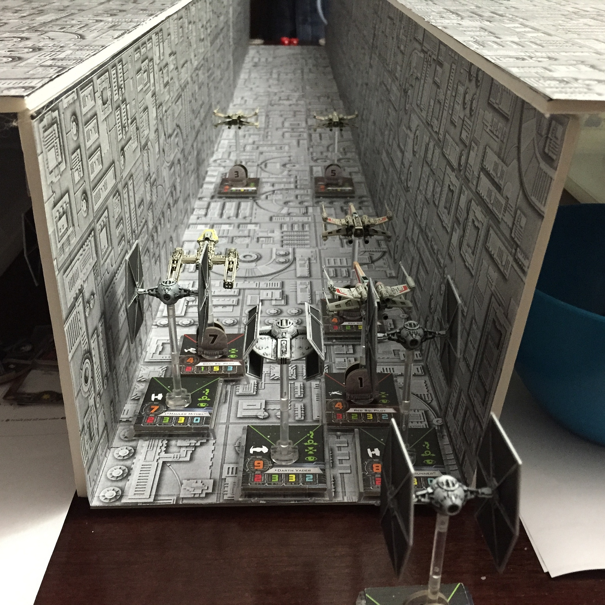X Wing Miniatures Death Star Assault The Amazing World
