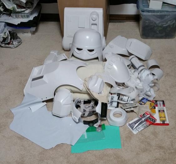 Snowtrooper parts